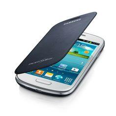 Samsung Samsung Etui Flip Cover Bleu Marine Efc1M7Fbeg Galaxy Siii Mini