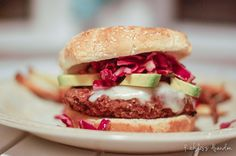 Healthy Black Bean and Quinoa Burgers #recipe from #RecklessAbandon