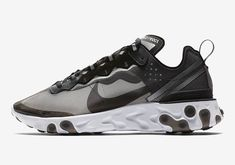 9a734dd9b968 The Futuristic Nike React Element 87 Gets a Closer Look  Stealthy.
