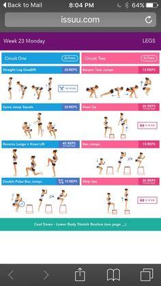 from Bikini Body Guide two Body Boss Method, Boss Body, Kayla Workout, Kayla Itsines Workout, Bikini Body Guide, Dumbbell Squat, Barbell Squat, Pulse Squats, Jump Squats