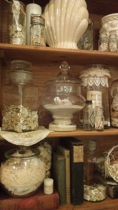 Button jars and containers