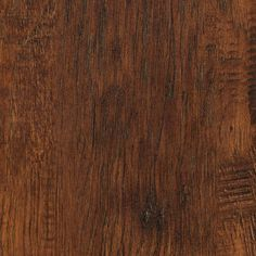 TrafficMASTER Embossed Alameda Hickory 7 mm Thick x 7-3/4 in. Wide x 50-5/8 in. Length Laminate Flooring (24.52 sq. ft. / case), Dark