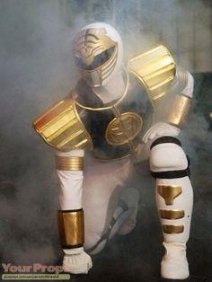 mighty morphin power rangers the movie white ranger armor | Mighty Morphin' Power Rangers, Original white power ranger glove ...