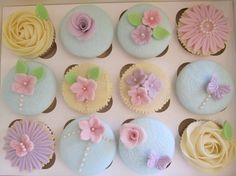students shabby chic cupcakes 1