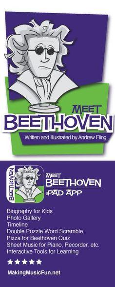 Meet Beethoven | iPad App -  https://itunes.apple.com/us/app/meet-beethoven/id895546693?mt=8 (scheduled via http://www.tailwindapp.com?utm_source=pinterest&utm_medium=twpin&utm_content=post716245&utm_campaign=scheduler_attribution)