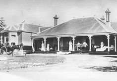 St George Cottage Hospital in Kogarah,in southern Sydney (year unknown).