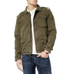 cotton military jacket j.crew