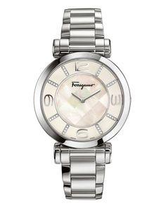 39mm Gancino Deco Pave Diamond Bracelet Watch