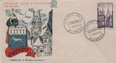 Timbre 1954 : QUIMPER | WikiTimbres