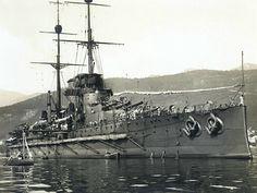 """ WWI — Austro-Hungarian battleship ""Viribus Unitis"" """