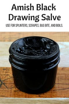 Amish Black Drawing Salve Recipe With Activated Charcoal - Everything Pretty