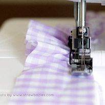 Sewing Basics: Ruffling   Easing with a Serger