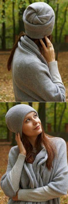 Маринкины ПрОделки: Супер-просто-шапка