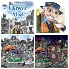 Wordless Wednesday Picture Book: The Flower Man