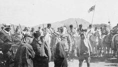 Fahreddin Paşa'nın Medine'yi teslim edişi.