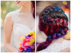 Colorful Lake Arrowhead Pine Rose Cabin Wedding | Taylor and Chris |