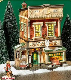 Woodbridge Gazette & Printing Office New England Village