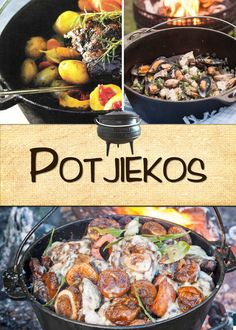 Potjiekos - Mmm – need we say more? Braai Recipes, Oxtail Recipes, Cooking Recipes, South African Dishes, South African Recipes, Ethnic Recipes, Kos, Dutch Oven Recipes, Food Inspiration