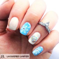 Lacquered Lawyer | Nail Art Blog: Let It Snow