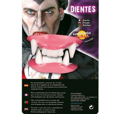 Dentier de Vampire #dentiersdéguisements #accessoiresdéguisements #accessoiresphotocall