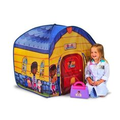 40591176b73 Doc McStuffins Toy Hospital Pop Up Play Tent - Kids Bedroom Doc Mcstuffins  Toys
