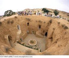 Berber Caves, Matmata, Tunisia