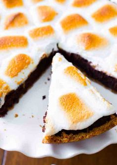 S'mores Brownie Pie.#tipit