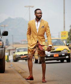 #African #Style #Wax #Men #Fashion #StreetStyle #StreetPhoto #Africa #FashionBloggers #Suit #Short #Handbag stephanelm.blogspot.com