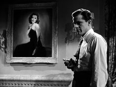 Laura - Winner of My Favorite Movie. Dana Andrews, Gene Tierney, Clifton Webb, and Vincent Price. The classic Film Noir movie. Crusty police detective falls in love with the portrait of a murdered woman.