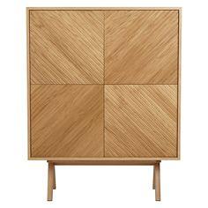 Buy Bethan Gray for John Lewis Newman 4-Door Tall Sideboard, Oak Online at johnlewis.com