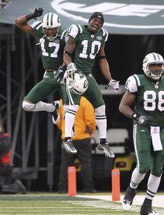 2010-2011 Jets - Touchdown celebration in Buffalo