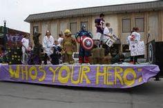 Superhero float ideas - - Yahoo Image Search Results
