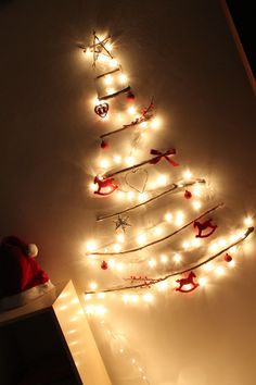 This is my DIY christmas tree,a simple and economic idea for an alternative christmas tree