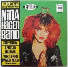 1980 NINA HAGEN 10 inch vinyl LP -- My dad bought this. I took it from him.