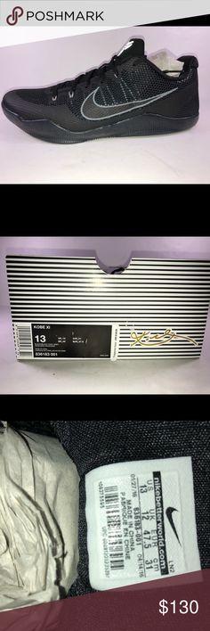 Nike Kobe XI Mamba Dark Knight Basketball Sneakers New With Damaged Box Never Been Worn Nike Shoes Sneakers