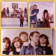 Triton 1984 - Zsikla János gitár, Bárkány Zsolt gitár, Juhász Attila dob, Győri János ének, Kun Péter Kunos gitár. (balról jobbra)