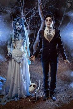 Corpes Bride, Tim Burton, Emily and Victor, Halloween costume