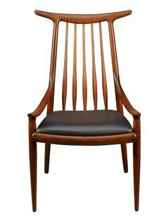 Sam Maloof Hornback Chair 1960