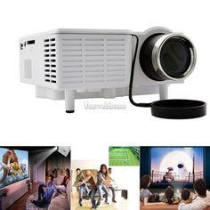 Mini Portable HD LED Projector Home Cinema Theater PC Laptop VGA USB SD AV HDMI - http://electronics.goshoppins.com/tv-video-home-audio/mini-portable-hd-led-projector-home-cinema-theater-pc-laptop-vga-usb-sd-av-hdmi/