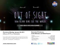 Kids See Through the Challenges of Blindness – Nick News | Linda Ellerbee | Nick.com