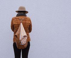 Plecak - torba w lisy w Leci Ptaszek na DaWanda.com