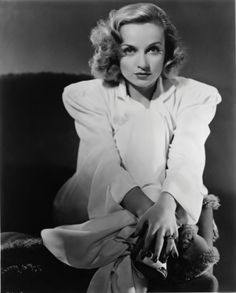 Carole Lombard photographed by Edward Steichen, 1930s