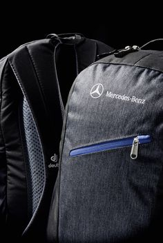 The Mercedes-Benz Backpack: Room for all the essentials and practical for all weather conditions!