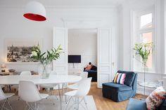 Un apartamento nórdico lleno de estilos diferentes | Decorar tu casa es facilisimo.com