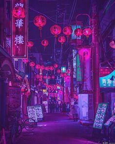 Yoshito Hasaka #photography #art #colors #tokyo #japan
