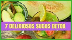 7 Deliciosas Receitas de Sucos Detox Para Emagrecer Rápido