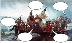 thought bubbles on photos- great history idea!  From history Tech