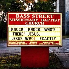 43 Church Signs Too Clever For Their Own Good