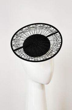GeoMod Disk by Suzy O'Rourke #millinery #judithm #hats