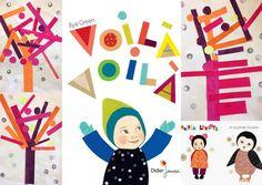 les petites têtes de l'art: Arbres d'après Ilya Green